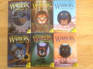 Warriors Power of Three  6 book set
