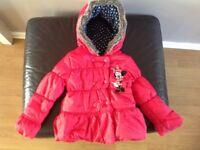 DISNEY girls jacket age 3-4
