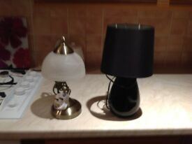 Two table lamps ,new