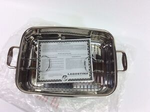 Lagostina Stainless Steel Roasting Pan New and Unused