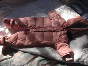 Snowsuit One Piece Feather Down Tommy Hilfiger 6 Month Baby Girl