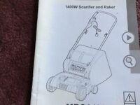Scarifier/raker