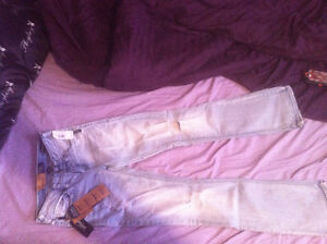 Brand New Ladies Size 25/33 Silver Jeans
