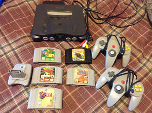 For sale is my N64 and Game's