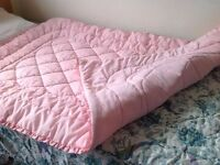 Quilted bedspread - single