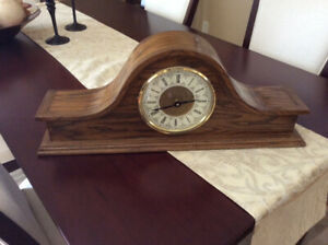 Clock, mantle chime