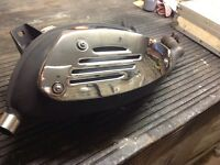 Vespa gts 125ie exhaust silencer 2014 excellent condition