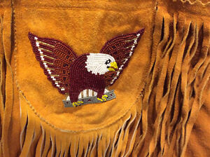 REDUCED!  REDUCED!,   NATIVE AMERICAN BEADED VEST Prince George British Columbia image 4
