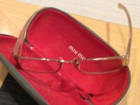 Ladies Designers Glasses Miu Miu