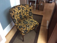 Victorian style vintage chair