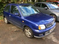 2003 Nissan Micra 1.0 tempest-1 previous owner-full Nissan history-April 2017 mot-good value