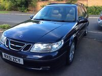 Saab 9-5 estate. 2001. 2.0 petrol turbo automatic. 210bhp Hirsch upgrade.