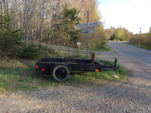 New Construction 2018 Utility Trailer $1100