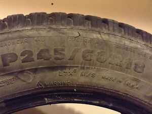 3 Gently used Tires