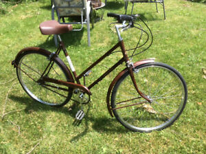 Vintage 70's  Raleigh 3 Speed from England