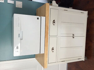 Apartment size dishwasher n cart