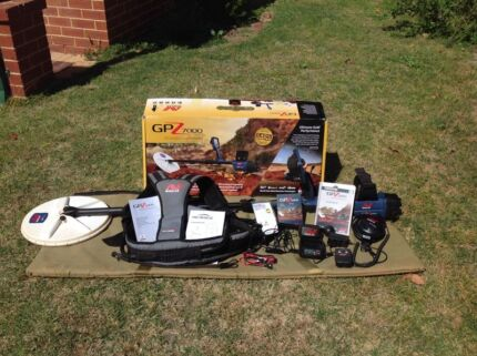 Minelab GPZ7000 metal detector  Perth Region Preview