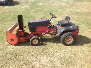 Gravely Tractor & Blower