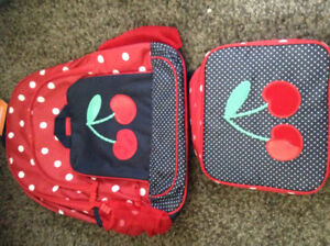 Gymboree brand new backpack and lunch kit