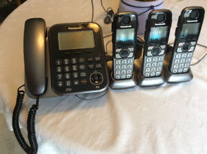 Cordless Phone Set. Like New Condition