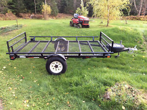 Side by side / quad / sled trailor - 10' by 6'  Mint condition-