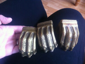 Antique Brass Feet
