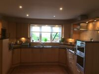 Pallazzo Kitchen. All Units, 8 Appliances, Granite Worktops and Sink