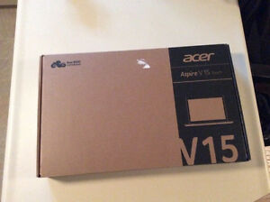 Acer Aspire V15 Touch Laptop STILL NEW IN BOX