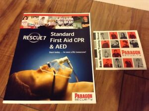 First Aid / CPR / AED + Basic Security Manual