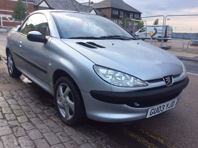 2003 PEUGEOT 206CC FULL LEATHER AIR CON SERVICE HISTORY!!