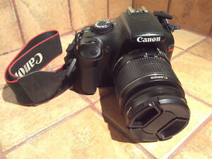Canon EOS Rebel t3 (+ 2 objectifs, 2 batteries, chargeur, sac)
