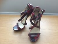Red Jimmy Choo Sandals