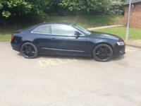 AUDI A 5 COUPE 3 LTR QUATTRO TURBO DIESEL 57 PLATE