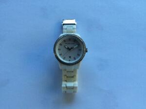 White Ceramic Micheal Kors Watch