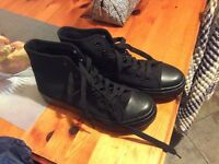 New look platform trainers size 5