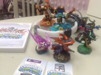 Skylander III DVD, portal and figures for sale
