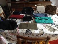 Various bags - different colours and sizes