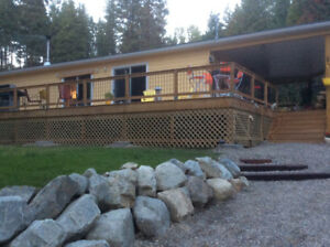 6.6 secluded acres, Creston, BC