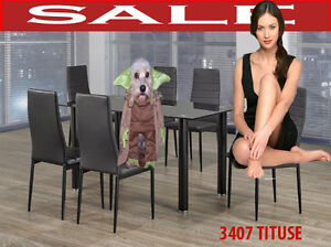 3407t, dinette full sets extendable tables, leather arm chairs