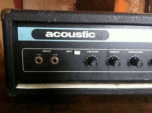 ACOUSTIC 220 Bass Head