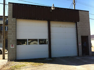 2 Bay Garage with Tall Doors!