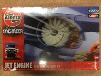 Airfix A20005 Engineer Jet Engine Educational Construction Kit New Sealed