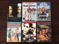 Lot de 20 dvd