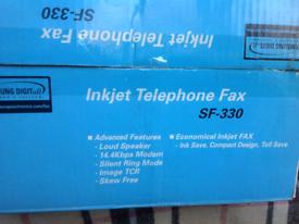 Telephone & Fax Machine - Samsung Brand New