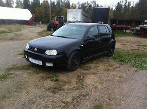 2005 Volkswagen Golf fully built Darkside development car
