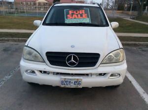2002 Mercedes Benz ML 320