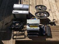 Car radio and CD multi changer