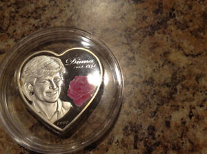 Lady Diana 2007 Silver Coin