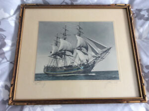 "Vintage original signed photograph ""Bounty"" by John E. Knickle"