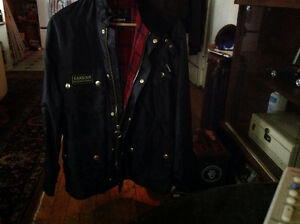 BARBOUR nylon jacket med.